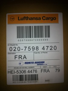 label of Lufthansa Cargo