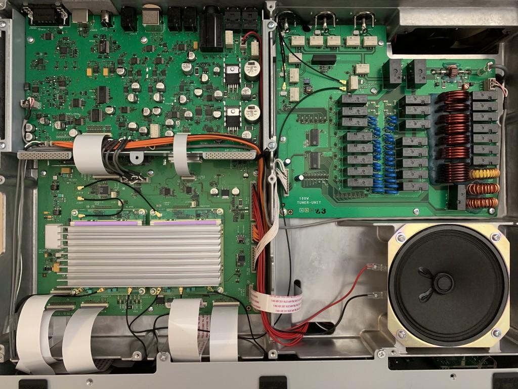 FTDX101D inside view
